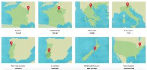8 regiões vivino